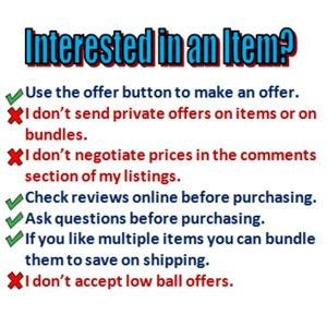 Other - Interested in an item? Here is what to do.